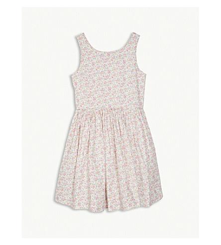 RALPH LAUREN Floral sleeveless cotton dress 7-16 years (Floral
