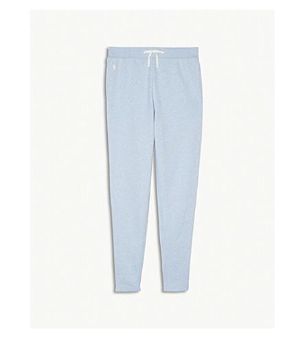 RALPH LAUREN Logo cotton-blend jogging bottoms S-XL (Elite+blue
