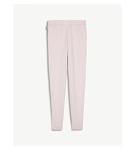 RALPH LAUREN Logo cotton-blend jogging bottoms S-XL (Hint+of+pink