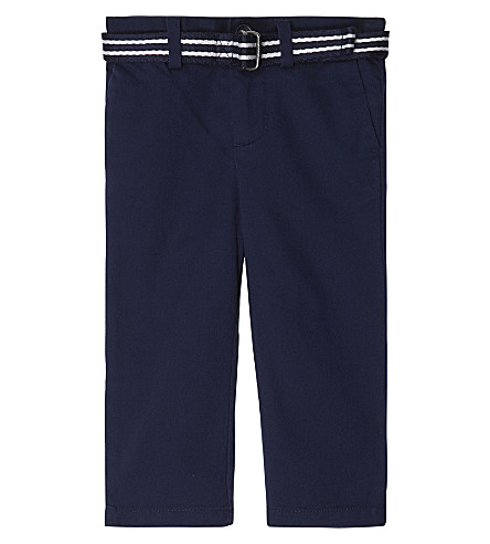 RALPH LAUREN Preppy chinos 6-24 months (French+navy