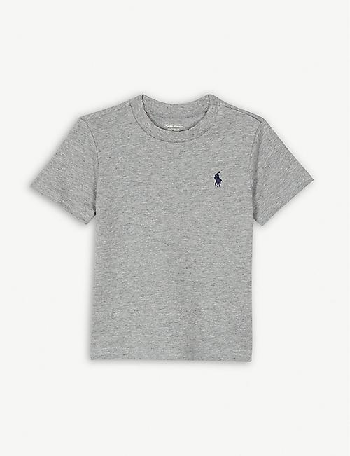 d4d5b40fc455 RALPH LAUREN Logo cotton T-shirt 3-24 months