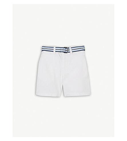 RALPH LAUREN Slim chino shorts 3-24 months (White