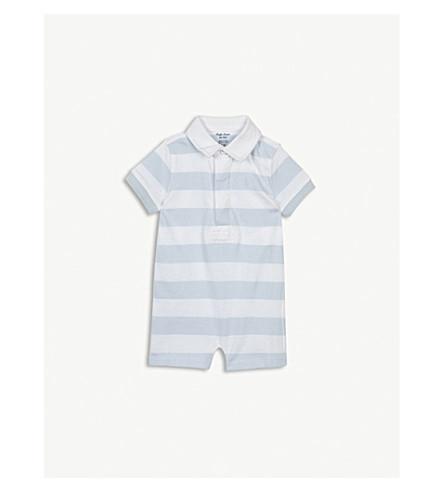 RALPH LAUREN Cotton stripe bodysuit 3-24 months (Blue/white