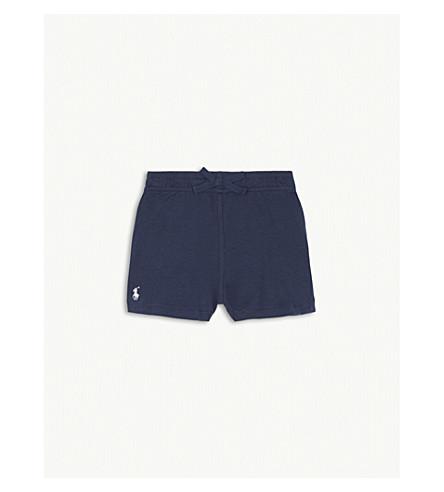 RALPH LAUREN Pony cotton shorts 3-24 months (Summer+navy