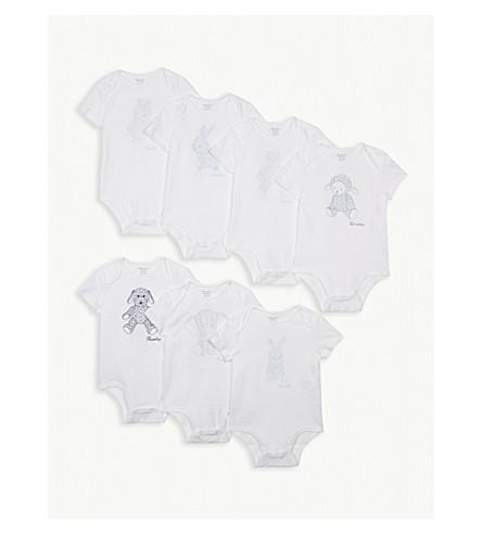 RALPH LAUREN Day of the week bodysuit gift set 3-12 months (White