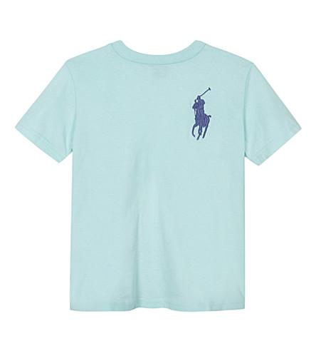 RALPH LAUREN Big Pony cotton T-shirt 2-7 years (Adirondack+lake