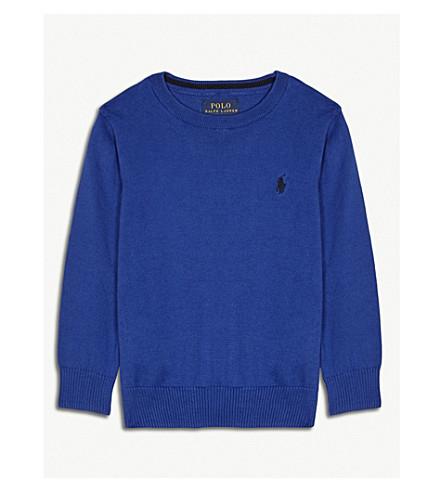 RALPH LAUREN Cotton jumper 2-4 years (Blue