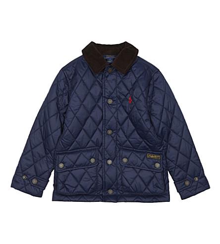 RALPH LAUREN Barn jacket 2-7 years (French+navy