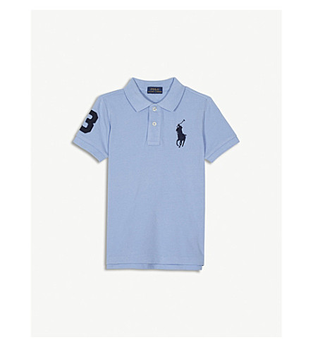 RALPH LAUREN Big pony polo shirt 2-4 years (Austin+blue