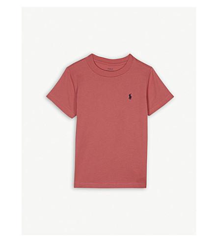 RALPH LAUREN Pony cotton short-sleeve T-shirt 2-4 years (Pink