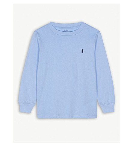 RALPH LAUREN Crew cotton tee 2-4 years (Austin+blue