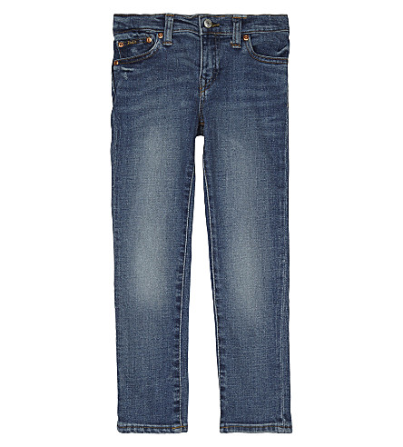 RALPH LAUREN Eldridge skinny-fit denim jeans 2-7 years (Tucker+wash