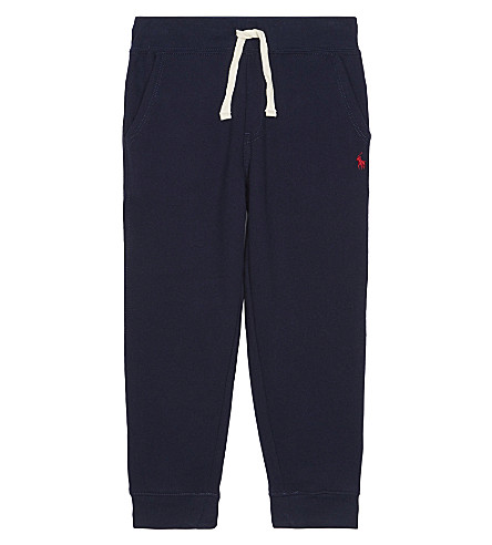 RALPH LAUREN Pony cotton-blend jogging bottoms 2-7 years (Cruise+navy