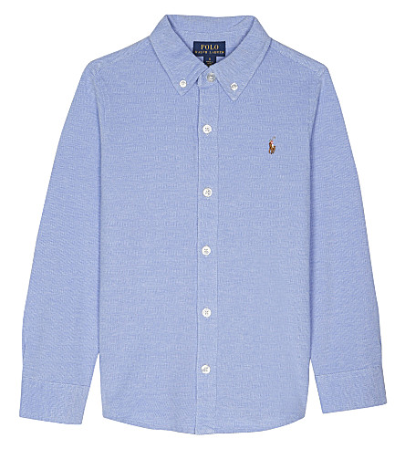 RALPH LAUREN Knitted Oxford shirt 2-7 years (Harbor+island+b
