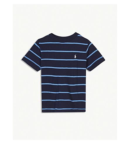 RALPH LAUREN Striped crew t-shirt 2-4 years (Navy+multi
