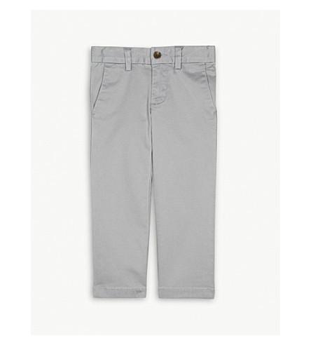RALPH LAUREN Stretch-cotton chinos 2-4 years (Avenue+grey