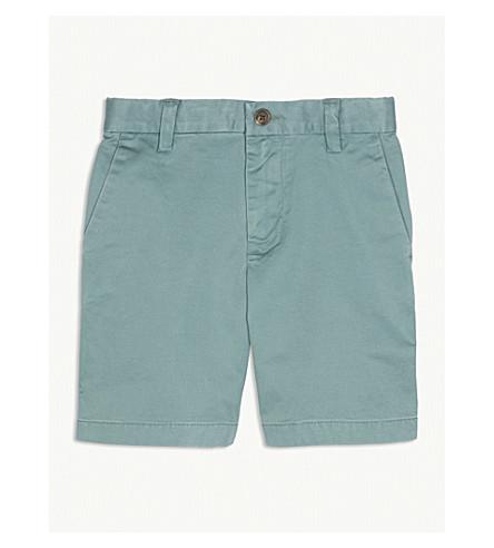 RALPH LAUREN Stretch-cotton chino shorts 2-4 years (Green