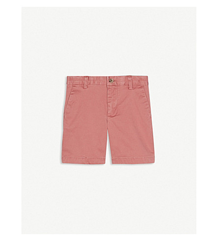RALPH LAUREN Stretch-cotton chino shorts 2-4 years (Pink