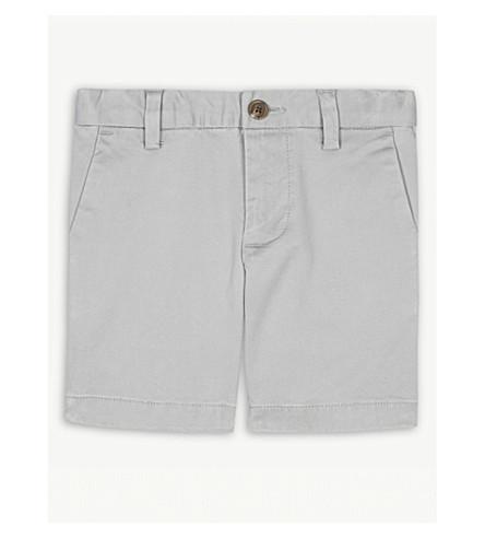 RALPH LAUREN 弹力棉奇诺短裤2-4 年 (大道 + 灰色