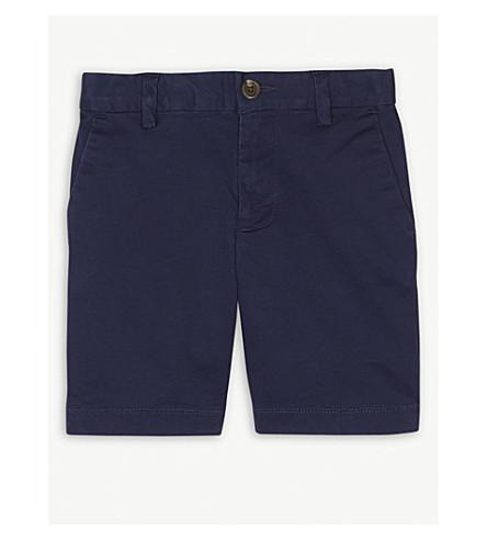 RALPH LAUREN Stretch cotton chino shorts 2-4 years (Newport+navy