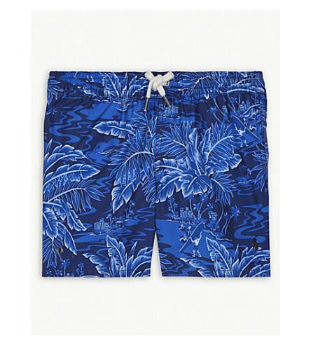 RALPH LAUREN Tropical-print swim shorts 2-4 years (Navy