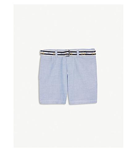 RALPH LAUREN Slim fit cotton-blend chino shorts 8-16 years (Bsr+blue