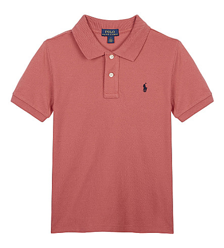 RALPH LAUREN Cotton polo shirt 5-7 years (Pink