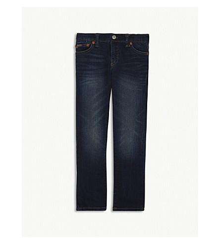 RALPH LAUREN The Eldridge skinny-fit denim jeans 5-7 years (Burke+wash