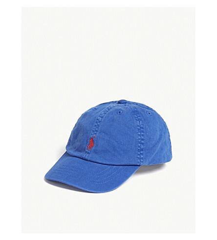 RALPH LAUREN Pony classic cotton strapback cap (New+iris