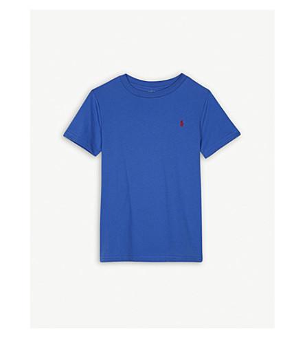 RALPH LAUREN Pony cotton T-shirt 5-7 years (Green