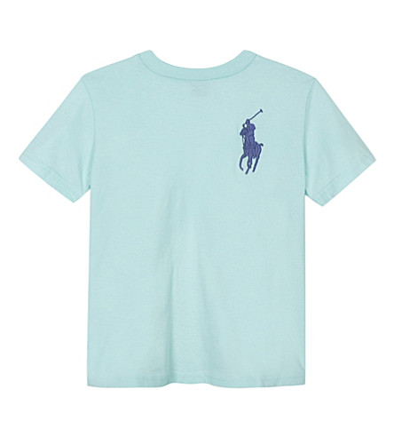 RALPH LAUREN Big Pony cotton T-shirt 6-14 years (Adirondack+lake
