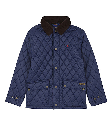 RALPH LAUREN Barn jacket 6-14 years (French+navy