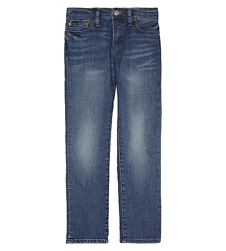 RALPH LAUREN Eldridge skinny-fit denim jeans (Tucker+wash