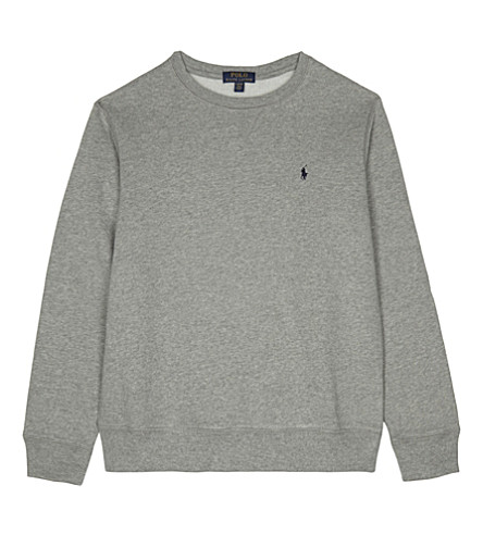 RALPH LAUREN Crew neck sweatshirt (Dark+sport+heat