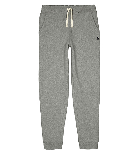RALPH LAUREN Heather tracksuit bottoms 6-14 years (Dark+sport+heat
