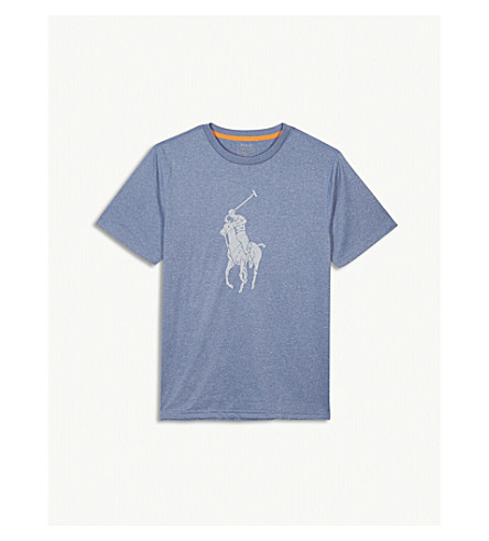 RALPH LAUREN Performance logo t-shirt (Heather