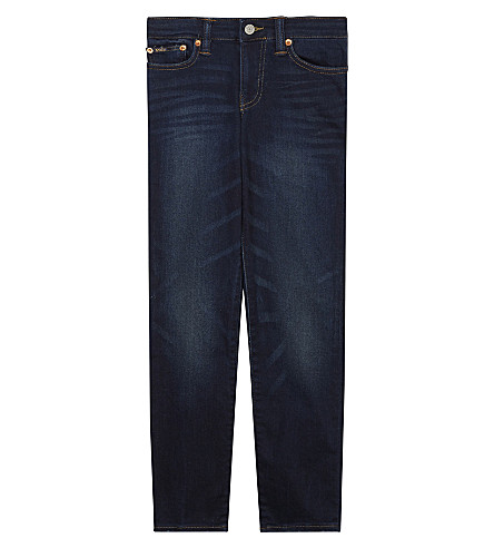 RALPH LAUREN Straight leg jeans 8-16 years (Burke+wash