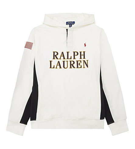 RALPH LAUREN Logo cotton hoody 6-14 years (Nevis