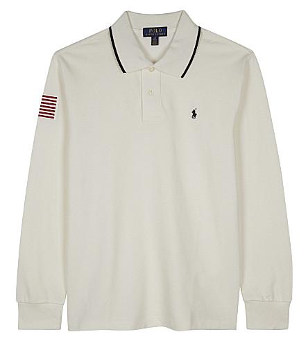 RALPH LAUREN Long sleeved polo shirt 6-14 years (Nevis
