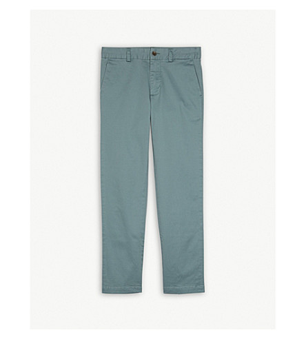 RALPH LAUREN Stretch-cotton chinos 8-16 years (Green
