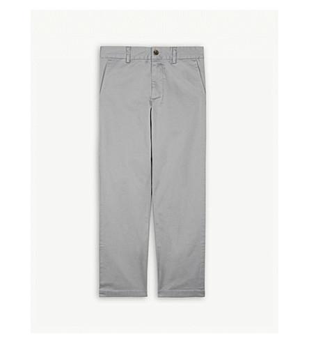 RALPH LAUREN Stretch-cotton chinos 8-16 years (Avenue+grey