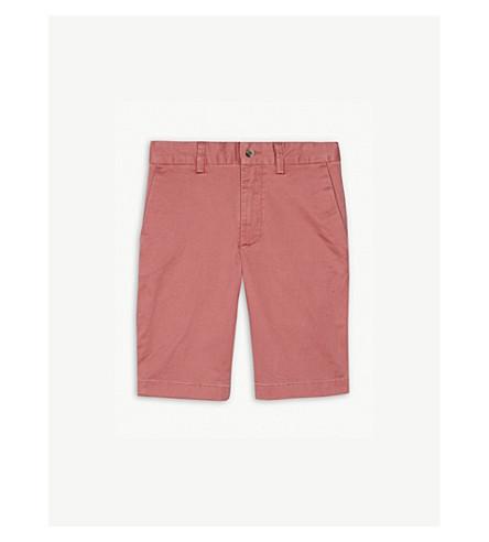 RALPH LAUREN Stretch cotton chino shorts 8-16 years (Pink