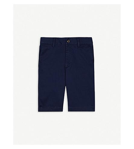 RALPH LAUREN Stretch-cotton chino shorts 8-16 years (Newport+navy
