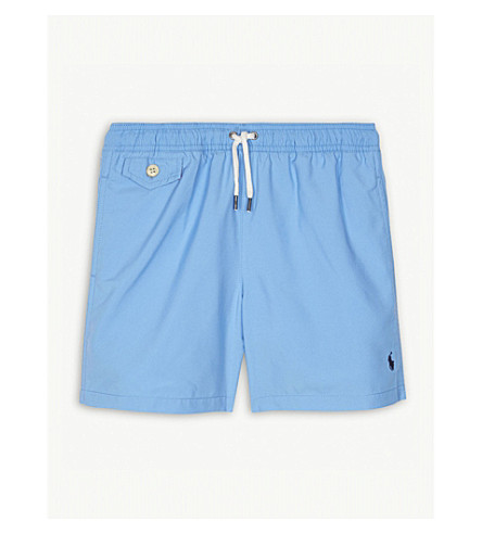 RALPH LAUREN Swim shorts 6-14 years (Florida+blue