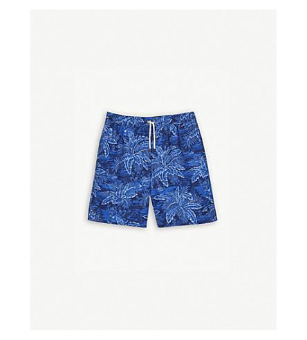 RALPH LAUREN Tropical swim shorts 6-14 years (Navy