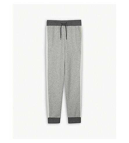 RALPH LAUREN Striped cotton-blend tracksuit bottoms S-XL (Light+grey