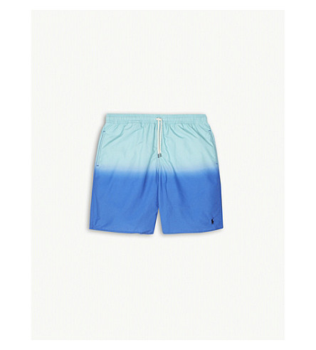 RALPH LAUREN Dip dye swim shorts (New+iris+multi