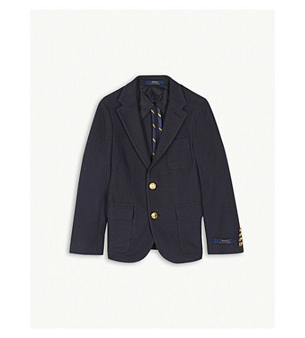 RALPH LAUREN Morgan blazer 8-16 years (Navy