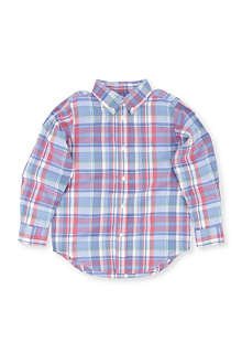 RALPH LAUREN Blake check shirt 8-16 years