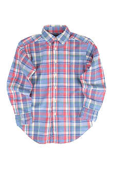 RALPH LAUREN Blake checked shirt 8-16 years